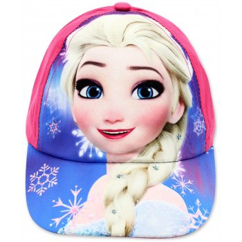Dívčí kšiltovka Ledové království - Elsa - růžová