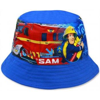 Dětský klobouk Požárník Sam - sv. modrý