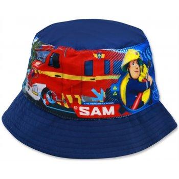 Dětský klobouk Požárník Sam - tm. modrý