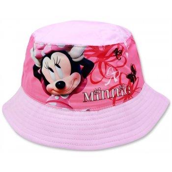 Dětský klobouk Minnie Mouse - sv. růžový