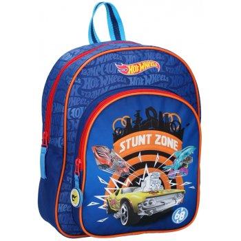 Dětský batoh s přední kapsou Hot Wheels - Stunt Zone