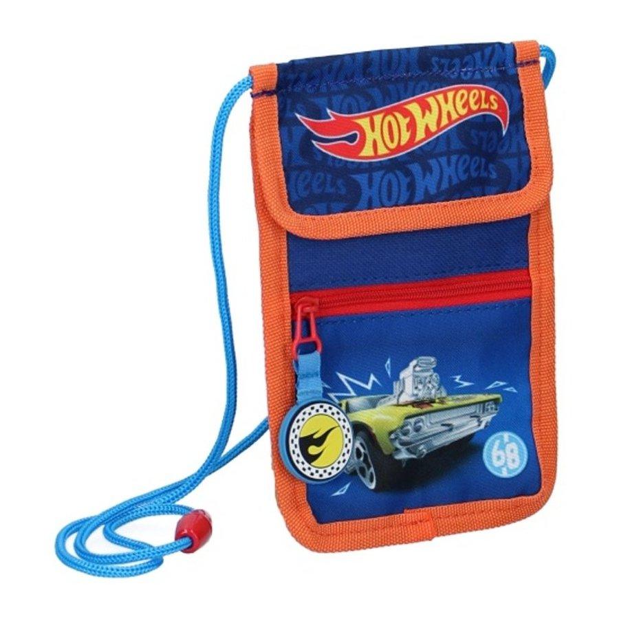 Peněženka / kapsička na krk Hot Wheels - Stunt Zone