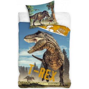 Bavlněné ložní povlečení Tyranosaurus Rex