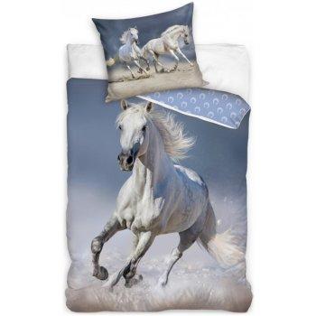 Bavlněné ložní povlečení Kůň bělouš