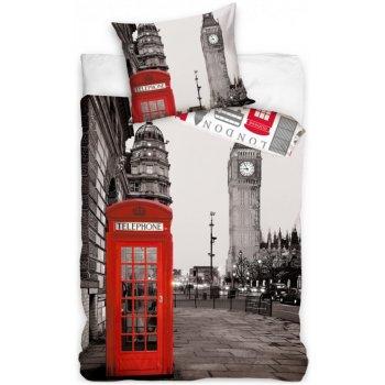 Bavlněné ložní povlečení London