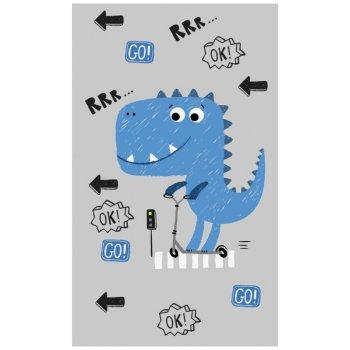 Dětský ručník Dinosaurus na koloběžce