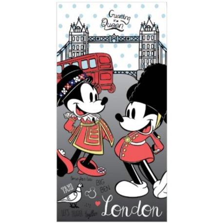 Plážová osuška Minnie & Mickey Mouse v Londýně