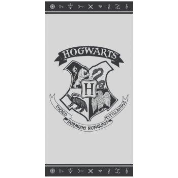Plážová osuška Harry Potter - erb Hogwarts