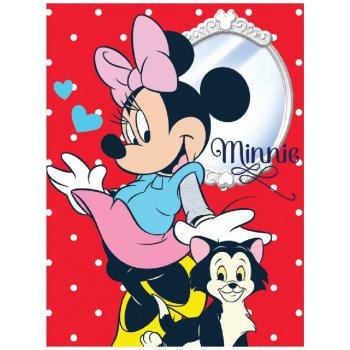 Velká fleecová deka Minnie Mouse - Disney