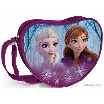 Taška přes rameno ve tvaru srdce Ledové království - Frozen
