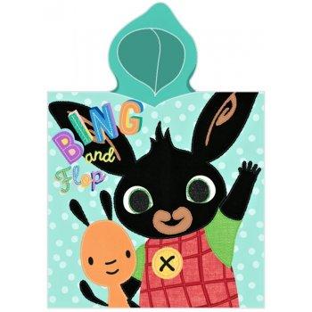 Dětské pončo - osuška s kapucí Zajíček Bing