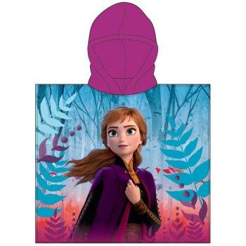Dívčí pončo - osuška s kapucí Ledové království 2 - Frozen 2