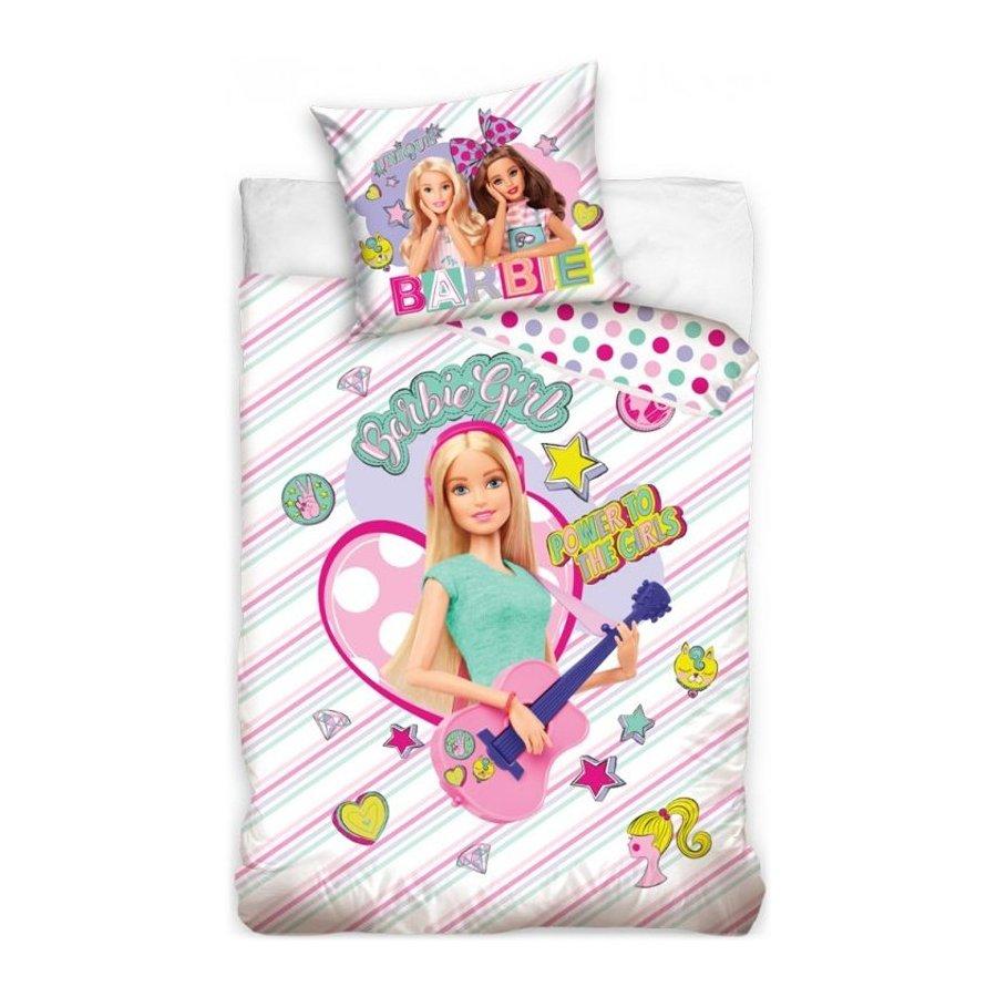 Bavlněné ložní povlečení Barbie - Pop Star