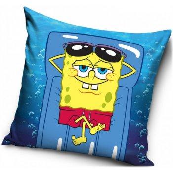 Povlak na polštář Spongebob na lehátku