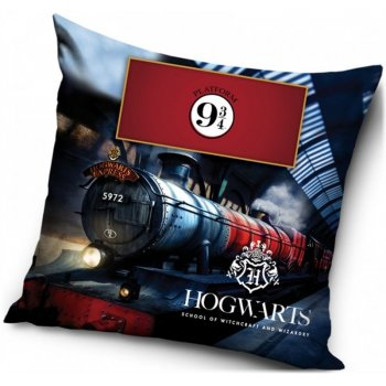 Povlak na polštář Harry Potter - Nástupiště 9 ¾