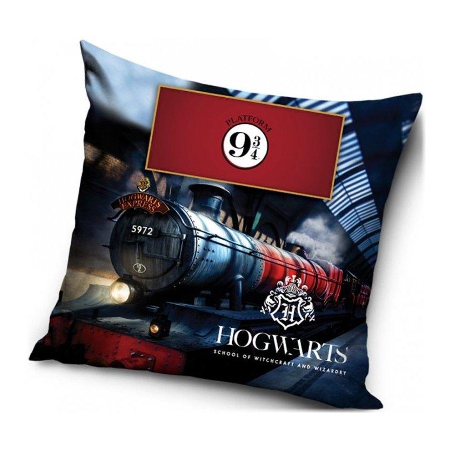 Carbotex · Povlak na polštář Harry Potter - motiv Nástupiště 9 ¾ - 40 x 40 cm