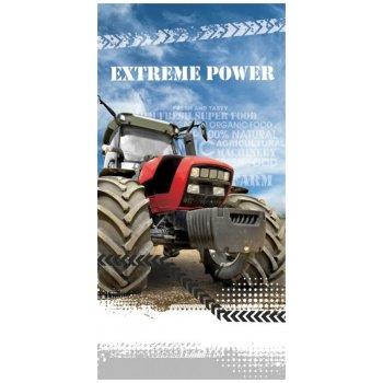 Bavlněná plážová osuška Traktor Extreme Power