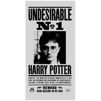Plážová osuška Harry Potter - Nežádoucí