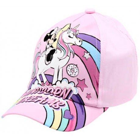 Dívčí kšiltovka Minnie Mouse - Unicorn Dreams (3 barevné varianty)
