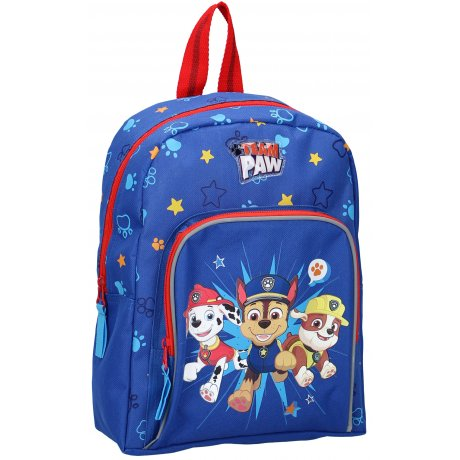 Dětský batoh s přední kapsou Tlapková patrola