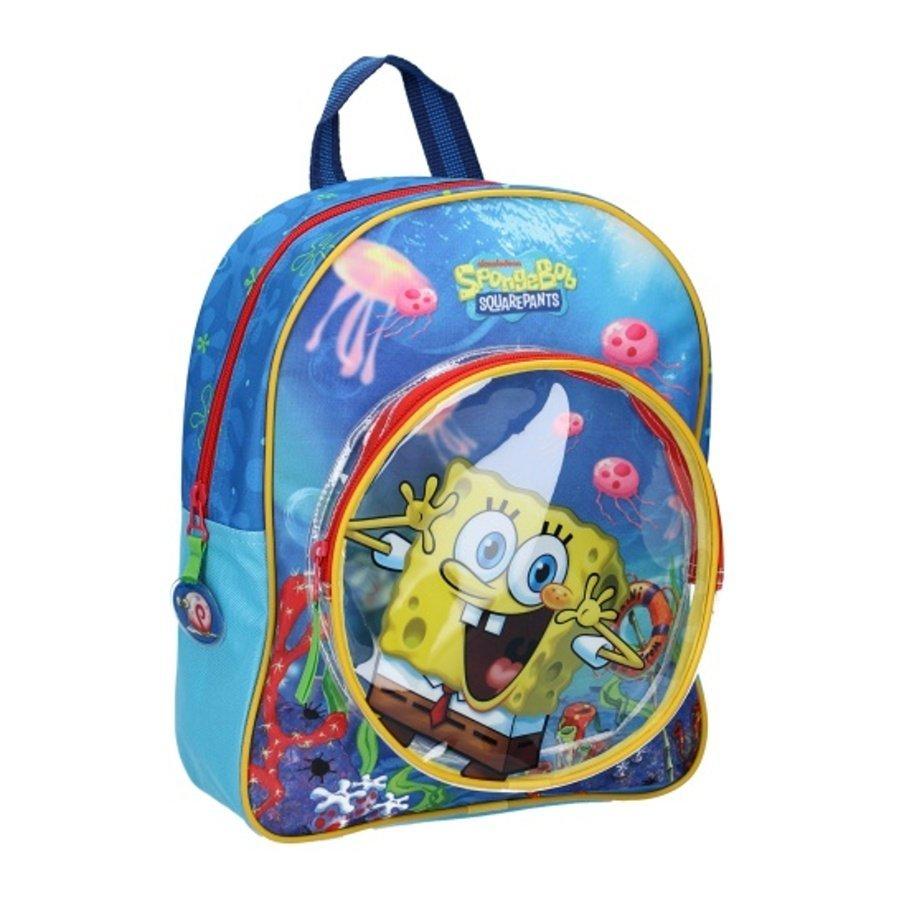 Dětský batoh s přední kapsou Spongebob