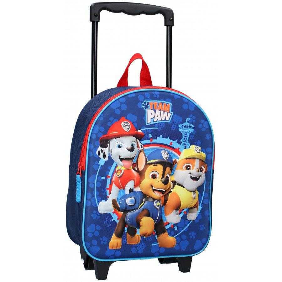 Vadobag · Dětský cestovní 3D batoh / kufr na kolečkách / trolley Tlapková patrola - Paw Patrol - 9L