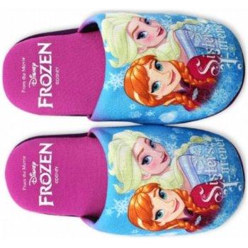 Dívčí pantofle Ledové království - Frozen - fialové