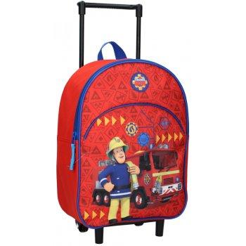 Dětský cestovní batoh na kolečkách Požárník Sam