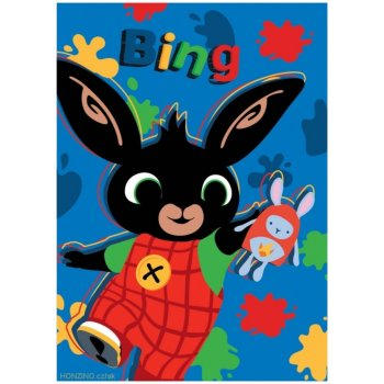 Dětská fleecová deka Veselý Zajíček Bing