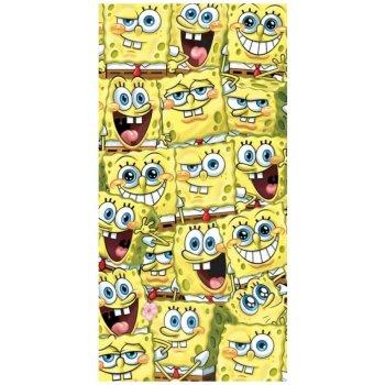 Dětská plážová osuška Spongebob všude kam se podíváš