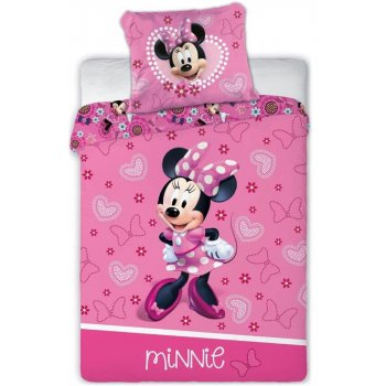 Povlečení do dětské postýlky Minnie Mouse