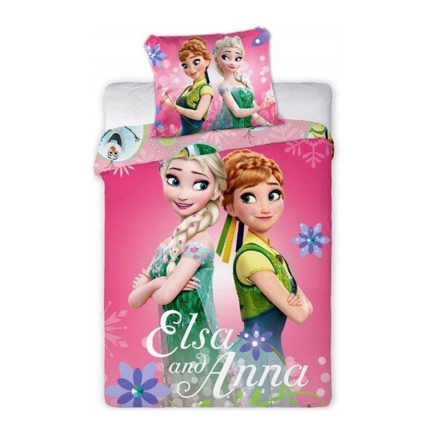 Povlečení do dětské postýlky Ledové království - Elsa and Anna