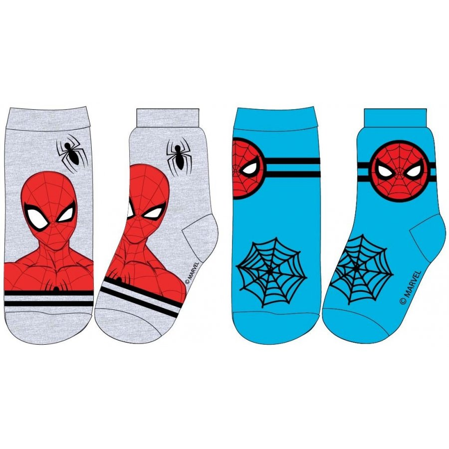 E plus M · Dětské / chlapecké ponožky Spiderman - MARVEL - bal. 2 páry - vel. EU 23 - 26