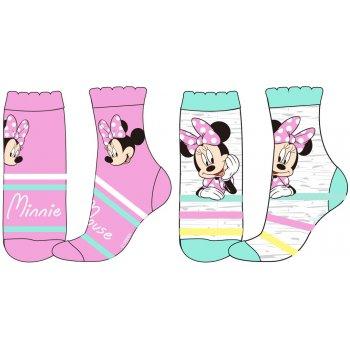 Dívčí ponožky Minnie Mouse (2 páry)