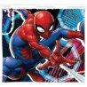 Dětskýflísový nákrčník / tunel na krk Spiderman - MARVEL. Z vnější strany je povrch příjemně jemný sobrázkem komiksového a filmového superhrdiny Spidermana, z vnitřní strany je hřejivý a chlupatý materiál polar fleece. Velikost je univerzální - pro děti.
