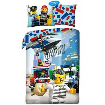 Bavlněné ložní povlečení LEGO City - Uprchlík
