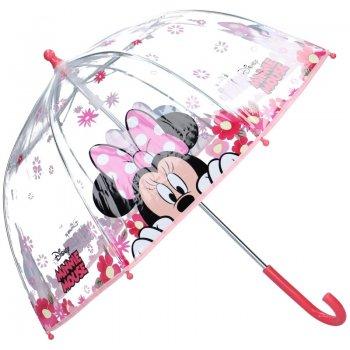 Dívčí transparentní deštník Minnie Mouse - Disney