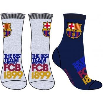 Chlapecké ponožky FC Barcelona (2 páry)