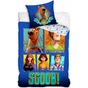 Bavlněné ložní povlečení Scooby-Doo - Celá parta