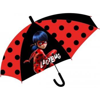 Dívčí vystřelovací deštník Kouzelná beruška - Ladybug
