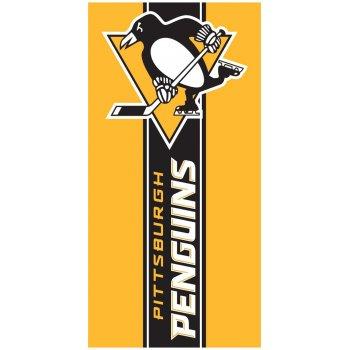 Hokejová bavlněná osuška NHL Pittsburgh Penguins Belt