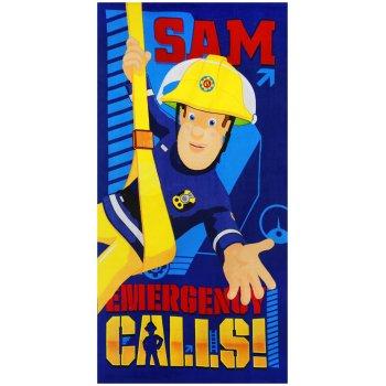 Plážová osuška Požárník Sam - Emergency Calls!