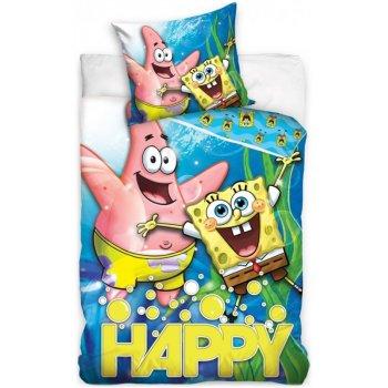 Bavlněné ložní povlečení SpongeBob Happy