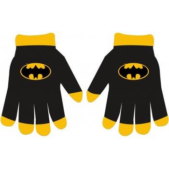 Chlapecké pletené prstové rukavice Batman