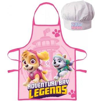 Dívčí zástěra s kuchařskou čepicí Tlapková patrola - Paw Patrol