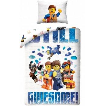 Bavlněné ložní povlečení Lego příběh 2