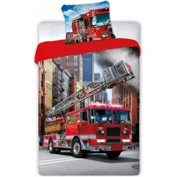 Bavlněné ložní povlečení Požárnické auto