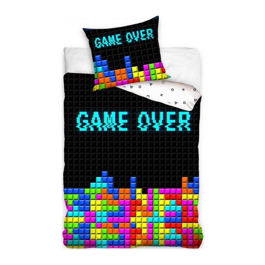 Bavlněné ložní povlečení GAME OVER