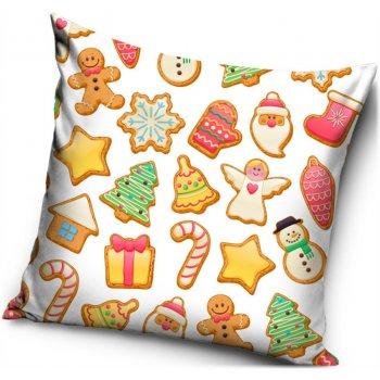 Povlak na polštář Vánoční cukroví
