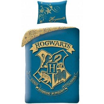 Bavlněné ložní povlečení Harry Potter - tyrkysové